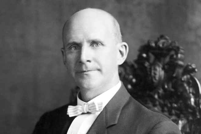 The Face of Labor Day – Holding Hands Eugene Debs